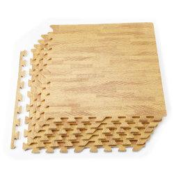 목제 곡물 지면 매트 6/12 도와 거품 아이를 위한 맞물리는 수수께끼 목제 매트, 체조, 지하실 2 ' x2