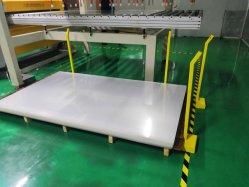 PS láminas de plástico para lámparas fluorescentes T8, cubierta de fijación