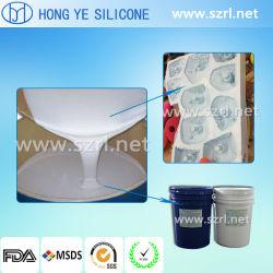 Flüssige Form, die Silikon für PU-Gussteile bildet