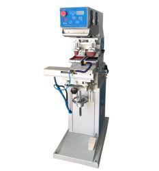 Tampon-Auflage-Bildschirm-Drucken-Maschine des Doppelventilkegel-2-Color mit Tinten-Tellersegment für Förderung-Felder
