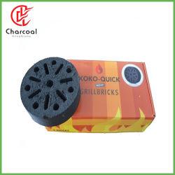 洪Qiangの円形の蜜蜂の巣のココナッツBBQの木炭