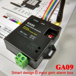 GSMアラームボックスSMS注意深い無線アラームGa09はおよび産業保全アラーム家へ帰る