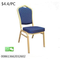 使用された金属の宴会の椅子をスタックする現代様式のホテルの家具アルミニウム