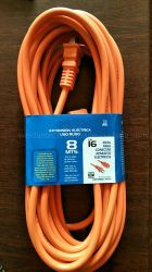 Cavo esterno resistente del cavo di estensione di potere di 2*AWG16 Svt