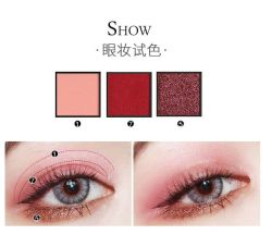 9-color palette luminescent Diamond Eye Shadow 5 couleurs
