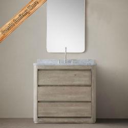 الاحتياطي الفيدرالي - 202 36 بوصة خشب البلوط الحمام Vanity الخزانة العلوية نوعية الحمام خزانة