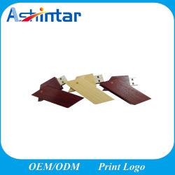 Le bois lecteur Flash USB Memory Stick disque Flash USB pivotant