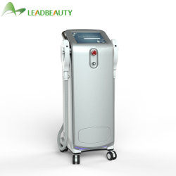 La lumière de la beauté de l'équipement d'alimentation Shr+E-Light IPL système d'enlèvement de cheveux