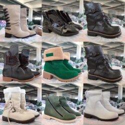 Мода обувь женских кожаные сапоги для продажи