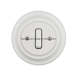 Interruttore a pulsante in porcellana interruttore a parete per luci elettriche classico