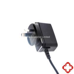 RCM SAA 認証 Aus プラグ 6 W 5V 9 V 12V 壁面トランスシングル出力スイッチングモード外部プラグイン医療用 グレード USB 充電器( EN/IEC /UL 60601 付