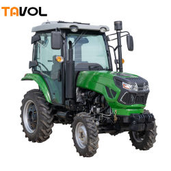 Tavol CE ISO 40HP 50HP 4WD Mini 4X4 트랙터 농업 팜 콤팩트 트랙터