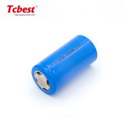 C Szie IonenBatterij van het Lithium van de Batterij Icr26500 3.7V 3200mAh van Li de Ionen Navulbare Cilindrische voor het In werking gestelde Licht van de Bal