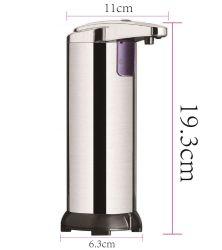 Usine d'alimentation capteur en acier inoxydable automatique Handfree Distributeur de savon désinfectant infrarouge