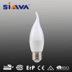 لمبة LED بيضاء دافئة طراز Simva C35t بقدرة 4 واط مع CE و مصابيح LED شمعة LED القابلة للتخفيت RoHS مصابيح LED ساطعة مكافئ