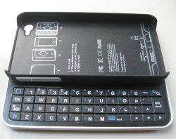 Пыль черный раздвижной Bluetooth беспроводная клавиатура для iPhone 4S 4