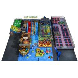 Super Septembre Enfants Enfants Soft Amusement Park de l'équipement de terrain de jeux intérieure