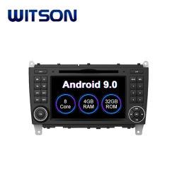 Witson Android 9.0 Auto multimédia pour Mercedes Benz CLK W209 (2004-2011) Cls W219 (2004-2008) Carplay WiFi GPS de navigation de l'autoradio