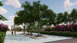 주거용 건물 조경 동족장을 위한 계획 및 디자인