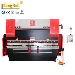 Alto freno della pressa idraulica di CNC di tonnellata 3200mm di configurazione 125 con CT8