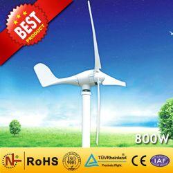 中国製造工場からの 800W 風力発電機(風力タービン発電機 90W - 300kW ) 家庭用の 800W 風力発電風力発電システム風 ミル( Mill