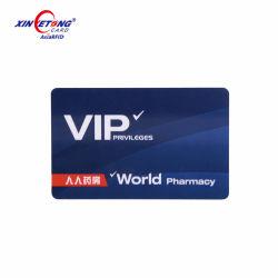 Cmykのオフセット印刷の中国の製造者のプラスチックPVC VIPカード