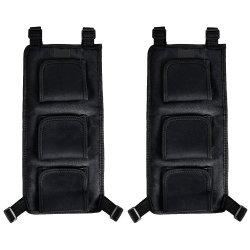 Soporte de barra de pesca para el asiento trasero del vehículo de neopreno (capacidad para 3 polos)