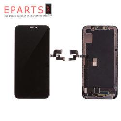 iPhone - X-OLED - アセンブリ - フレーム付き - 黒 AAA グレード GX ハード OLED