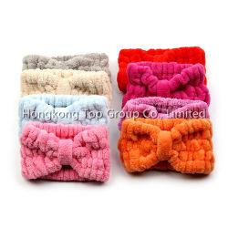De modieuze Comfortabele Katoenen Pluche Gebreide Hoofdband Hairband van het KUUROORD Microfiber