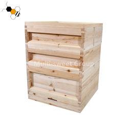 precio de fábrica de madera desmontado todo el conjunto de la casa de la Abeja UK National colmena