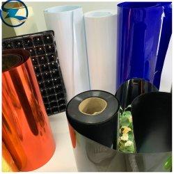 La impresión de embalaje personalizado PP Films el papel de aluminio rígido hojas rollos