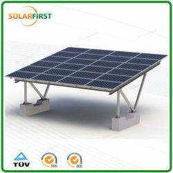 PV van het zonnepaneel Systeem van Carport van de Structuur van de Grond het Opzettende