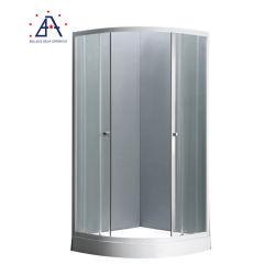 Profil en aluminium anodisé pour salle de bain salle de douche en verre