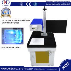 3W 5W UV machine de marquage au laser pour tout le matériel céramique QR Code à barres de métal bois marque plastique