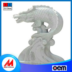 Fabricado en China mármol natural piedra de granito tallado Artesanal de jardín