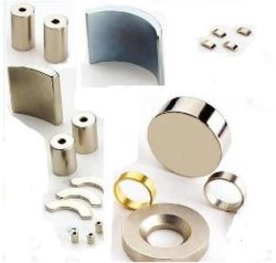 Verschieden vom Formen NdFeB Magneten, wie Zylinder-Magneten, runder Magnet, Lichtbogen-Magnet