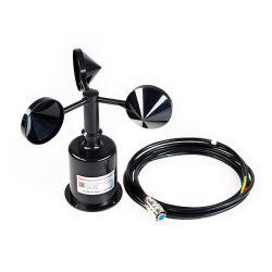 Sensore di plastica poco costoso ad effetto hall di velocità del vento dell'anemometro del vento della tazza Rk100-02 con CE