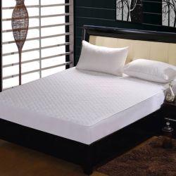 Cama impermeable toalla Terry Hotel protector de colchón Tapa (JRD593)