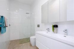 Miroir personnalisé en PVC de la vanité des armoires de cuisine en bois Meubles de salle de bains
