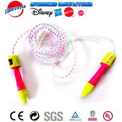 새로운 플라스틱 트롤 En71를 가진 소녀를 위한 다채로운 건너뛰는 밧줄 줄넘기