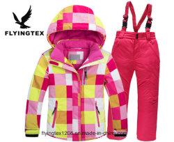 印刷される子供のスキー冬のジャケットMoutainは衣服をからかう
