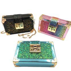 2020 Nouveau concepteur Bling épaule colorés Glitter de petites filles de luxe Mini Mesdames les sacs à main des sacs à main pour les femmes