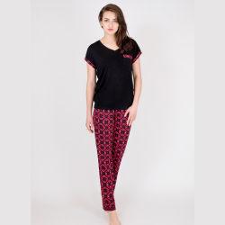 Pyjama classique de la Viscose Women's Printemps/Automne Accueil Vêtements Ensemble Simple, décontracté, lumière et de vêtements respirants d'accueil,Femmes Ensemble Pajama Homewear Pajama de haute qualité