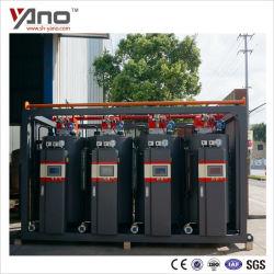 caldaia a vapore elettrica del gas della piccola acqua automatica industriale verticale orizzontale della lavanderia del combustibile del gasolio di 300kg/H 500kg/H