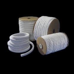 Aislamiento contra incendios el fuego de la Cuerda trenzada de Plaza de la Ronda de aislamiento de la cuerda de fibra cerámica Cuerda trenzada