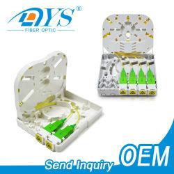 屋内 / 屋外 1 2 4 6 8 16 24 コア / ポート ABS FDB NAP SMC FTTH FTAA 壁面取り付けスプリッタミニプラスチック 光ファイバ / 光ケーブル分配端子ボックス
