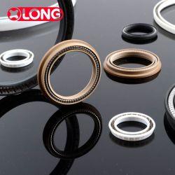PTFE// Teflon/polymère plastique joints sous tension de ressort de haute qualité personnalisés pour la vanne de l'environnement strict