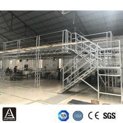 Feria de la armadura de aluminio Stand Truss Truss exposición pantalla