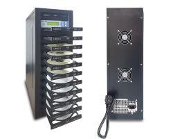 2018 10 فتحات إضافة مع محركات أقراص SATA، أجهزة نسخ الأقراص المضغوطة على أقراص DVD لنسخ الموسيقى والأفلام