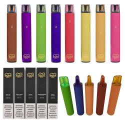 2000のパフの使い捨て可能な蒸発器のペンのパフ最大衝突蒸気ポッドのパフVapeは速い熱の極度の最も熱く贅沢な印の方法Eタバコに当る